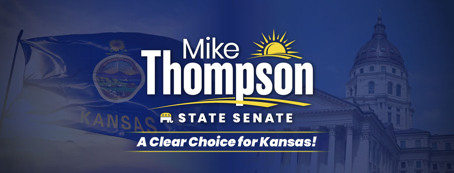 Senator Mike Thompson for Kansas></a><br>